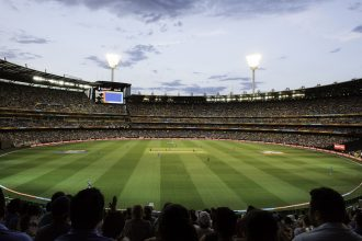 Cricket at the MCG. Photographed by Emily Godfrey. Image supplied via Visit Victoria.