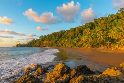 Beach on Costa Rica's Pacific Coast