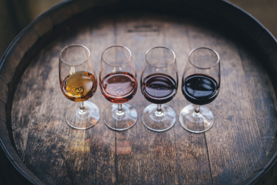 Wine. Photographed by Maksym Kaharlytskyi. Image via Unsplash