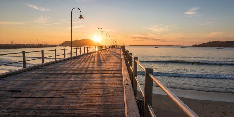 Coffs Harbour Jetty. Image purchased.