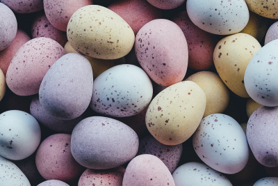 Easter Chocolates. Photographed by Annie Spratt. Image via Unsplash