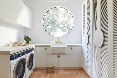 House 10 Laundry. Three Birds Renovations. Image supplied