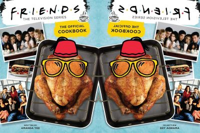 Friends: Offical Cookbook. Image via Booktopia.