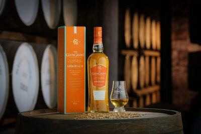 The Glen Grant Arboralis Single Malt Scotch Whisky. Image: Supplied