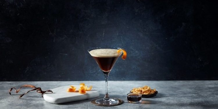 Nespresso Espresso Martini virtual Masterclass. Image supplied