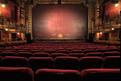 Empty Theatre. Photographed by Peter Lewicki. Image via Unsplash