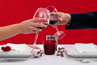 Romantic dinner for two. Photographed by RTimages. Sourced via Shutterstock