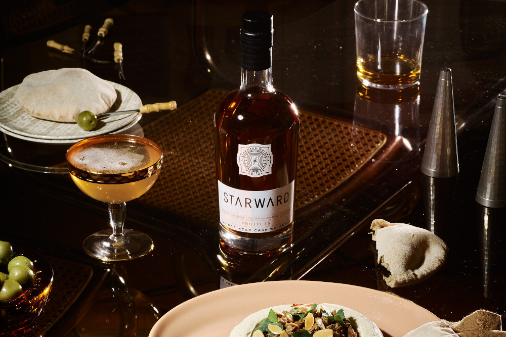 Starward Ginger Beer Cask Single Malt Whisky. Image: Supplied