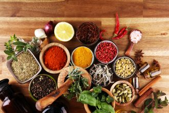 Spices and Herbs. Photographed by beats1. Image via Shutterstock