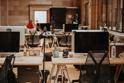 Workplace. Photographed by Annie Spratt. Sourced via Unsplash