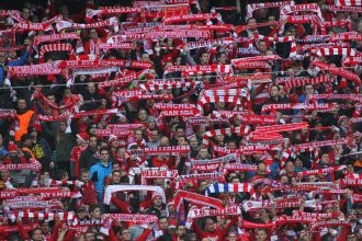 Bayern Munich Crowd.