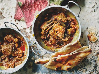 Anjum Anand's Slow-Cooked Karnataka Pork Curry Recipe. Spice Tailor. Image supplied