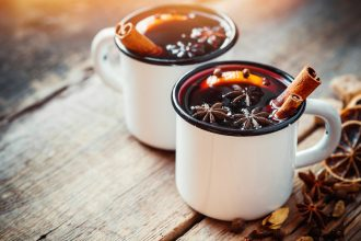 Easy at home Mulled Wine Recipe. Photographed by Chamille White. Image via Shutterstock