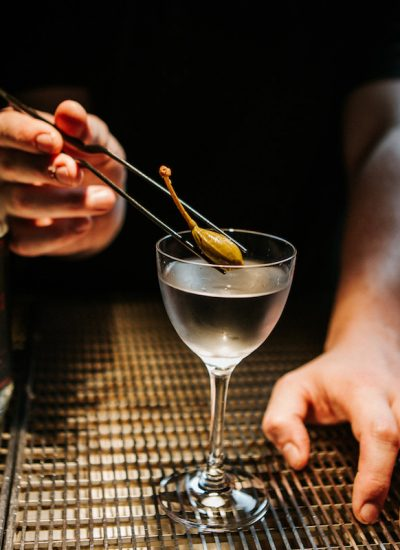 Gin Lab Martini. Image Supplied.