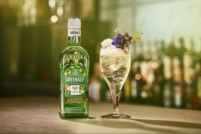 Greenalls Green Apple Liqueur. Image: Supplied