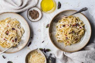 Italian food. Photographed by Bruna Branco. Image via Unsplash