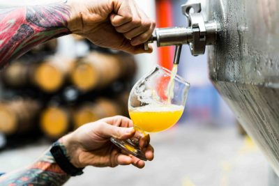 Craft beer. Photographed by Evan Dvorkin. Sourced via Unsplash