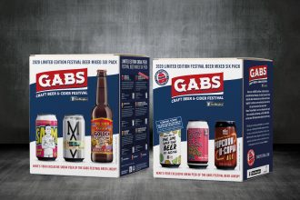 GABS 2020 Festival Beer Mixed Six Pack Dan Murphy's. Image supplied