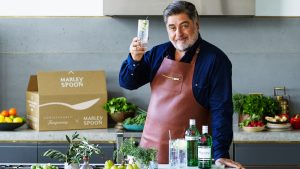 Matt Preston Tanqueray x Marley Spoon Winter Dinner Party Box. Image supplied.