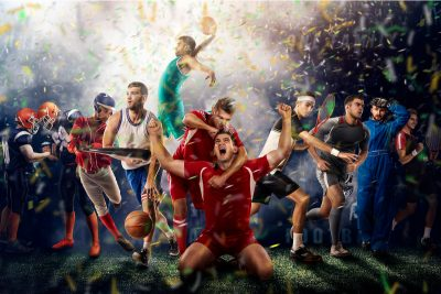 Sports Players. Image by masisyan. Purchased via Shutterstock.