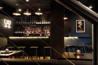 Hendriks Cognac & Wine Crows Nest Sydney. Photographed by Steven Woodburn. Image supplied