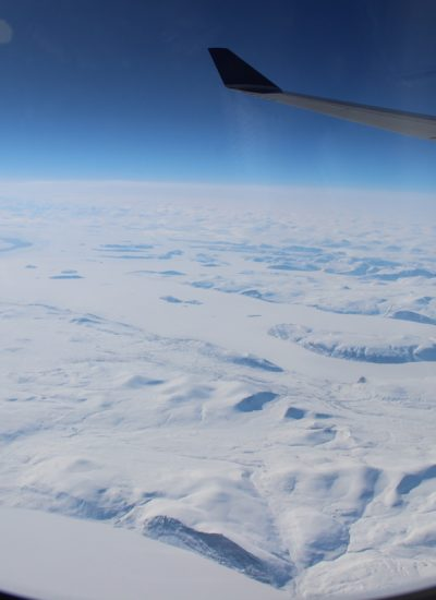 Ice Floe From Plane by Mademoiselle N via Shutterstock