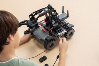 RoboMaster EP Core Educational Robot. Image supplied