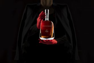 Limited-Edition Woodford Reserve Baccarat Edition Whiskey. Image supplied.