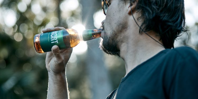 Modus Operandi Brewing Co Non Alcoholic NORT Refreshing Ale. Image supplied