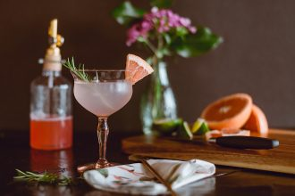 Cocktail. Photographed by Tina Witherspoon. Image via Unsplash