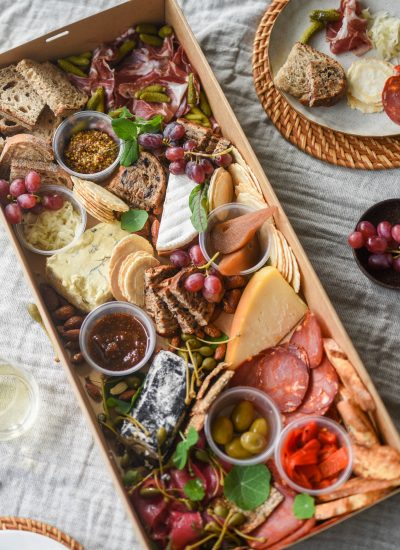 Tasting Board. Image by Lisa Holmen via Shutterstock.