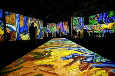 Van Gogh Alive Sydney. Vincent Van Gogh Tree Roots. Image supplied