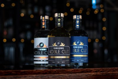 Young Henry's Noble Cut Gin. Image supplied.