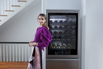 LG Signature Wine Cellar. Image: Supplied