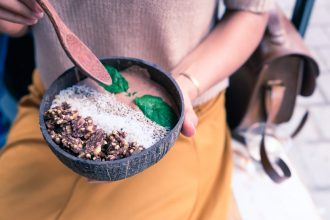 Acai bowl. Photographed by Ella Olsson. Image via Unsplash