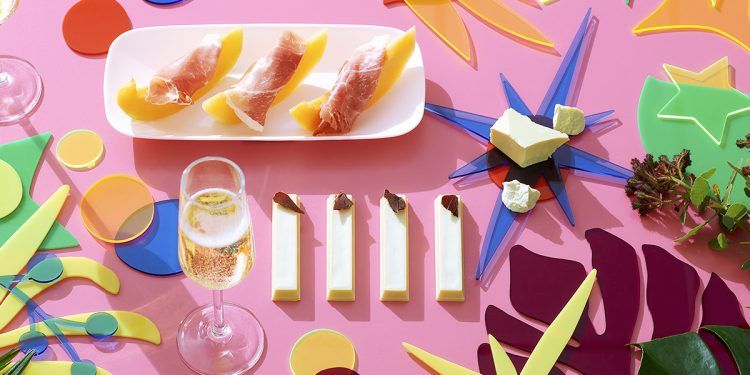 KitKat's Christmas 2020 release: Prosciutto, Melon and Champagne. Image supplied.