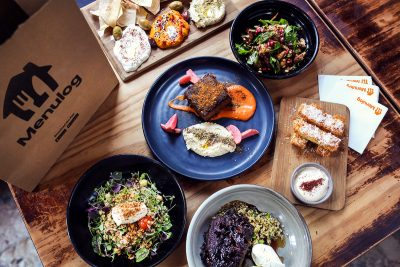 Menulog Embers Mezze Bar. Image supplied
