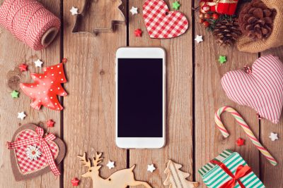 7 Best IOS and Android Apps You Need For Christmas 2020. Photographed by Maglara. Image via Shutterstock
