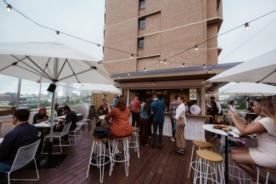 Burdekin Rooftop bar. Photographed by Billy Zammit. Image Supplied