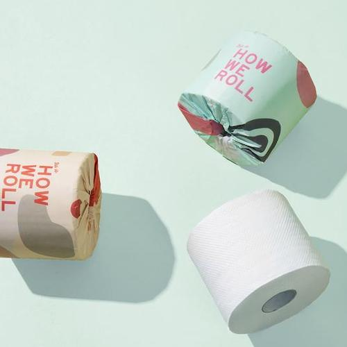 <strong>100% Recycled 3 Ply Toilet Paper</strong>