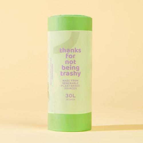 <strong>100% Compostable & Biodegradable 30L Medium Bin Liner Roll</strong>