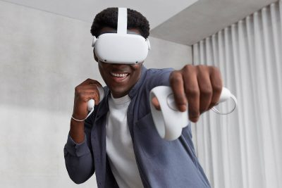 Oculus Quest. Photographed by Cynthia Aquino. Image via Shutterstock