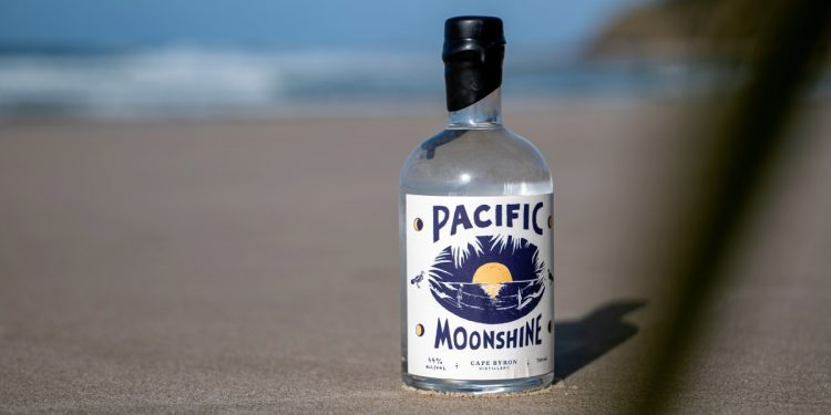 Pacific Moonshine Bottle. Image: Supplied
