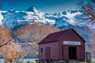 Camp Glenorchy Eco Retreat. Image supplied by 100% Pure New Zealand.
