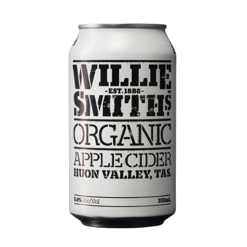<strong>Willie Smith's</strong> Organic Apple Cider
