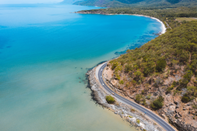 Great Barrier Reef Drive in Cairns, Far North Queensland.