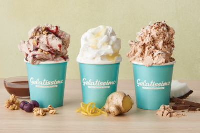 Gelatissimo Goes Healthy with Açaí, Kombucha and even Protein Powder Gelato. Image supplied.