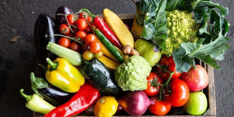 South Melbourne Market. Crate of Vegetables. Image Supplied