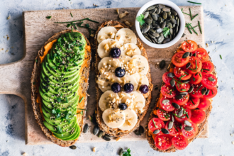 4 Tips For Eating a Healthy Plant-Based or Vegan Diet. Photographed by Ella Olsson. Image via Unsplash.