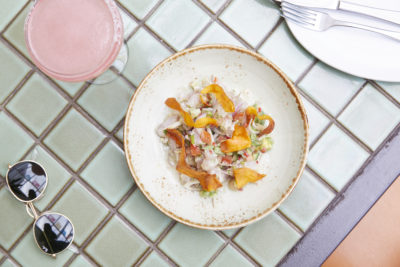 SoCal Sydney's Chilli and Snapper Mexican Ceviche Recipe. Image supplied.